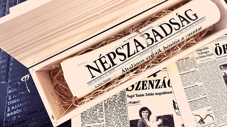 12 oldalas születésnapi újság akár 1 munkanap alatt