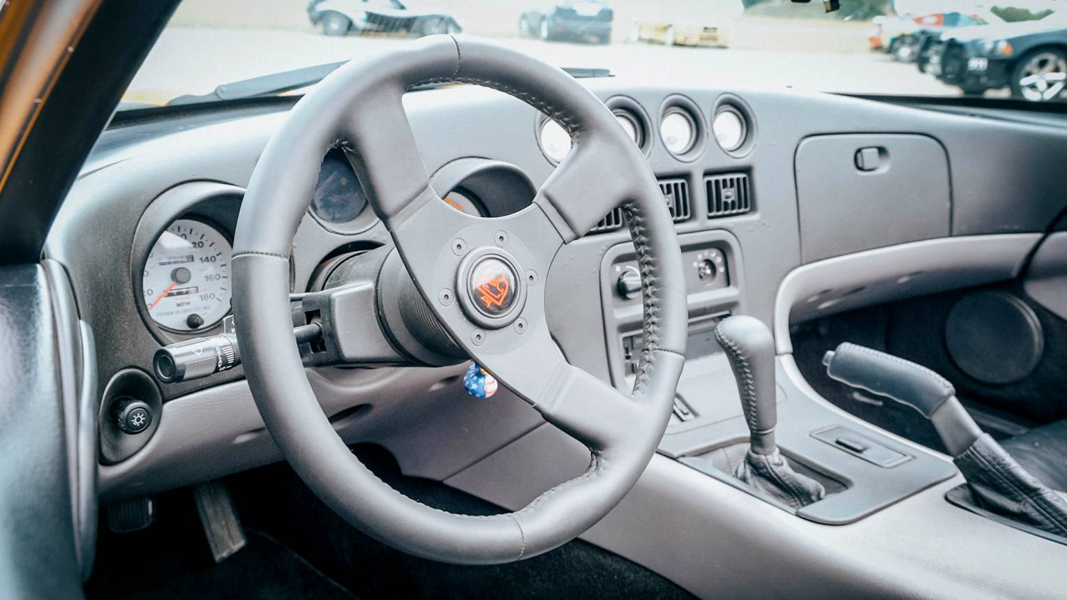 Dodge Viper vezetés a DRX-ringen