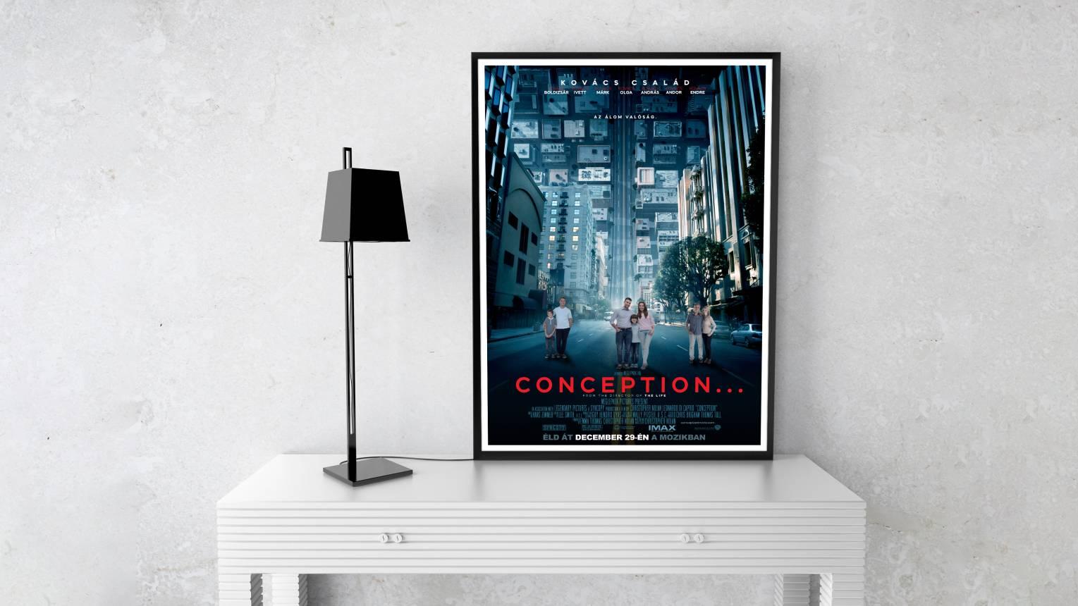Szerepeljetek a közös filmetek moziplakátján