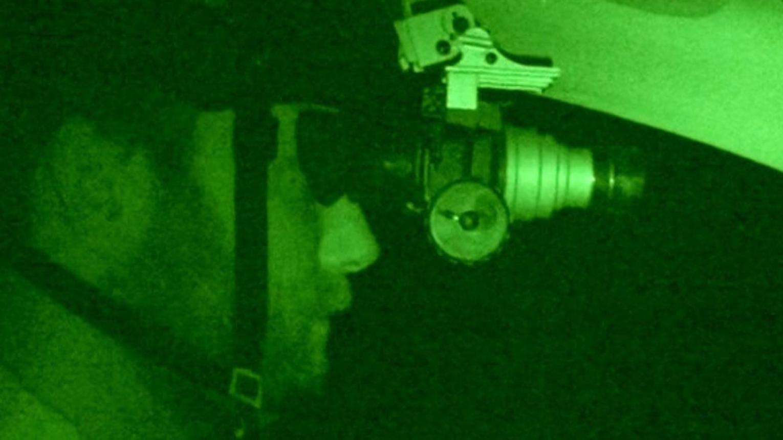 Éjszakai harckocsi vezetése éjjellátóval Gyálon