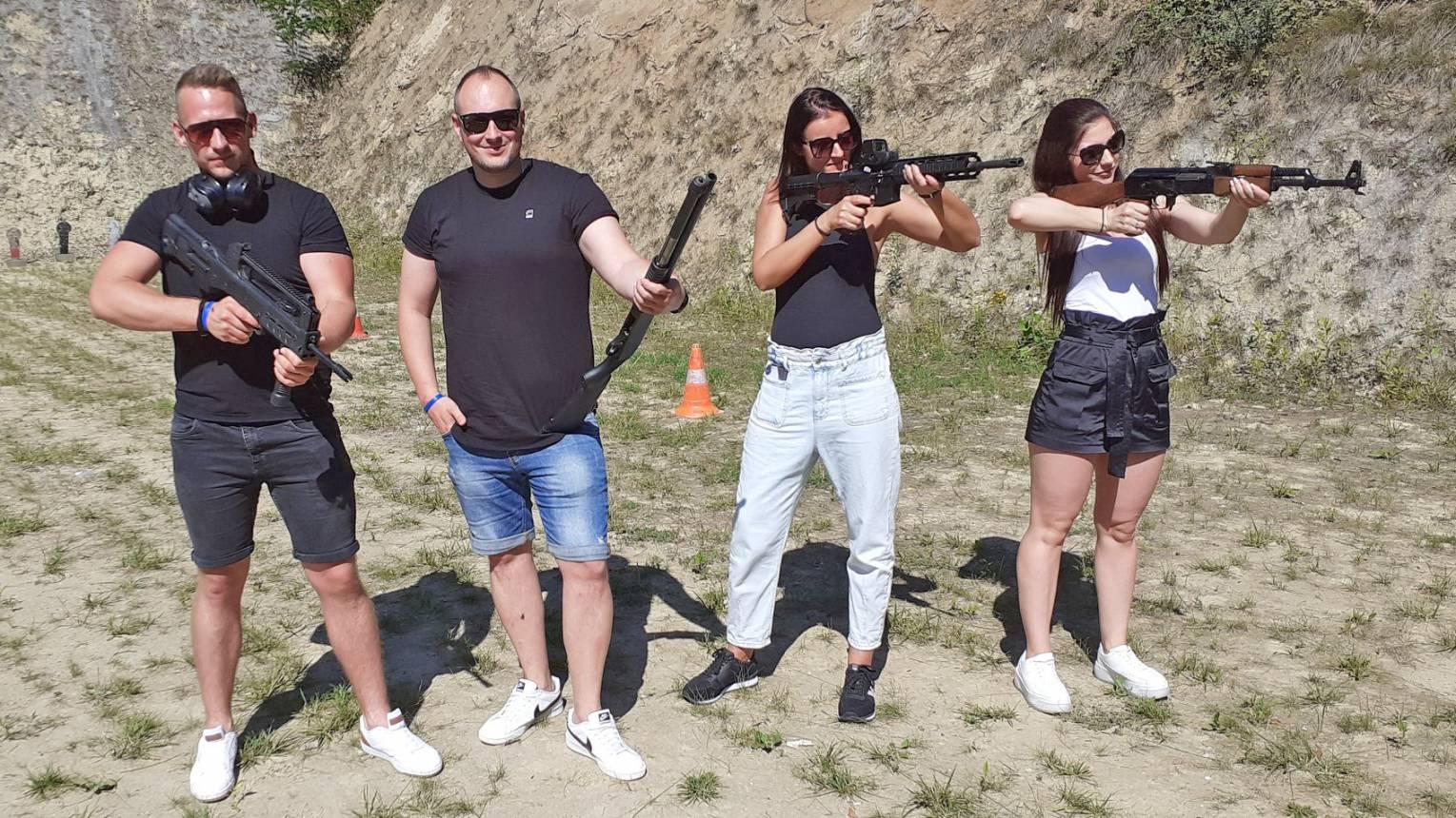 Stallone csomag a győri Ballistic lőtéren