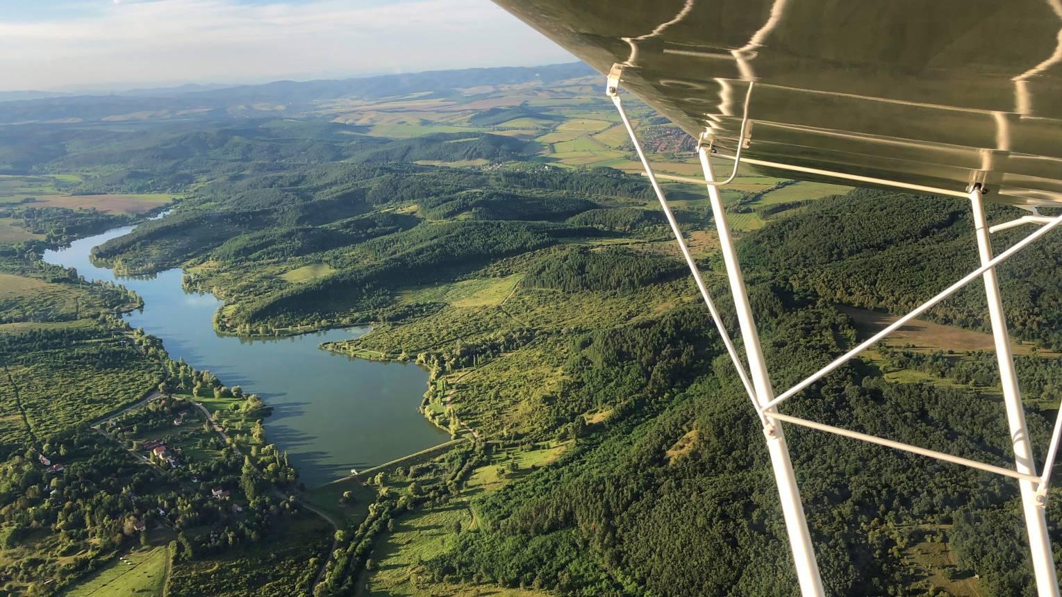 Élményrepülés az egri borvidék és a bükk lankái felett