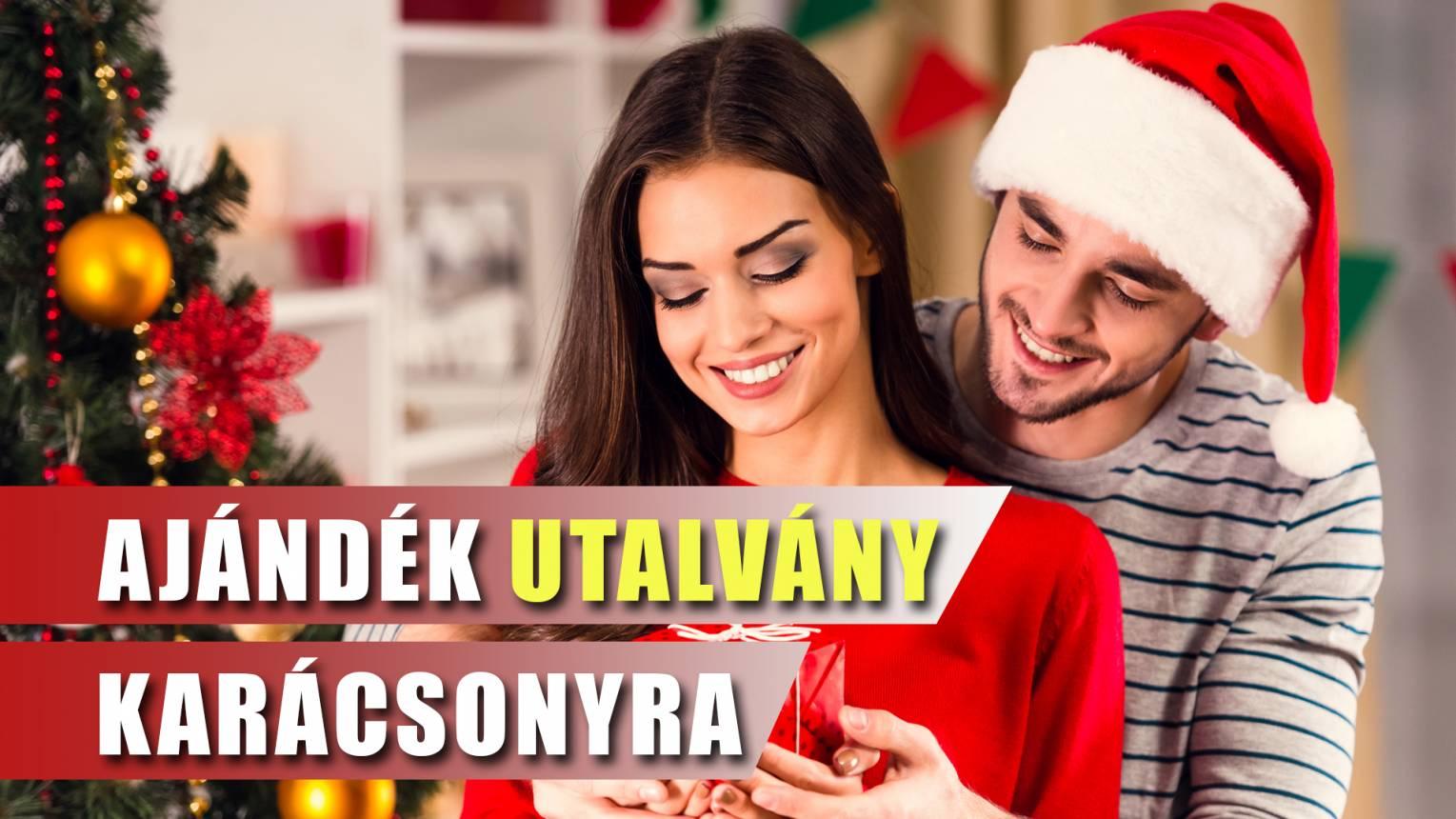 Ajándék utalvány Karácsonyra