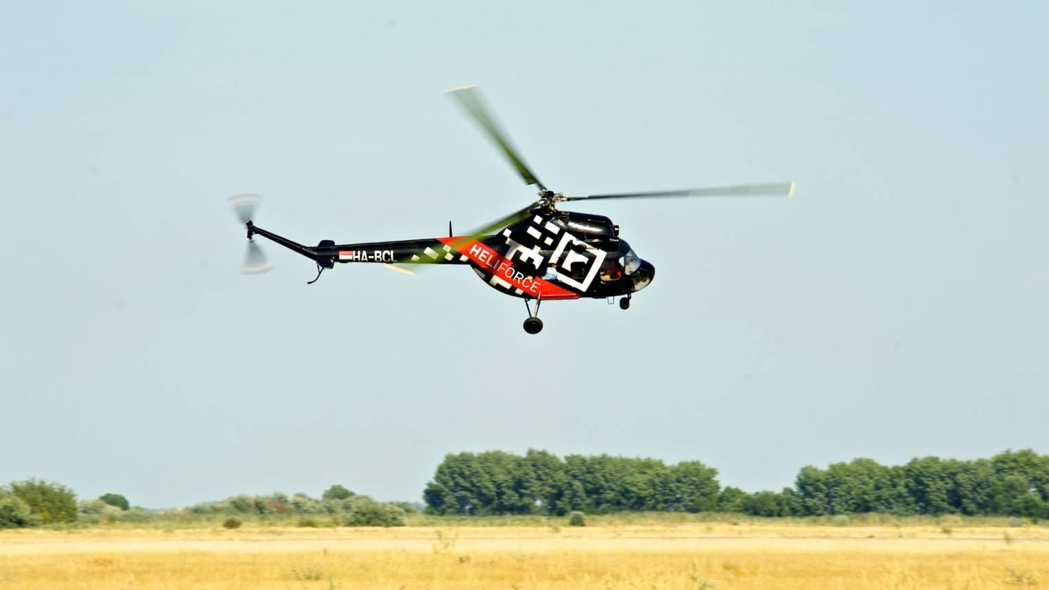 Extrém helikopteres repülés 1 fő részére
