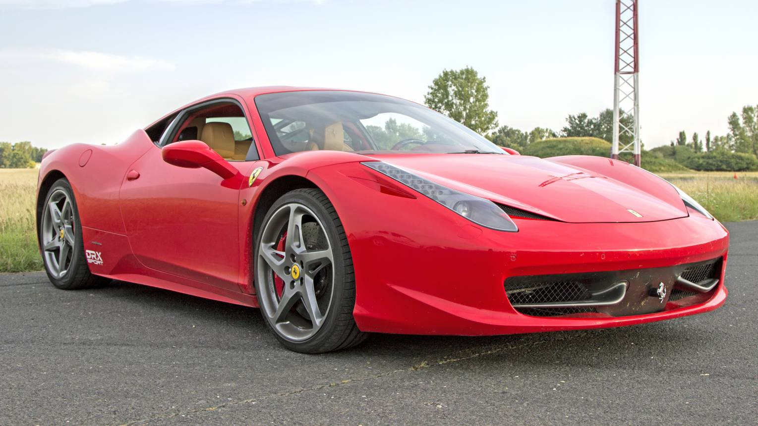 Ferrari 458 Italia vezetés a DRX-ringen