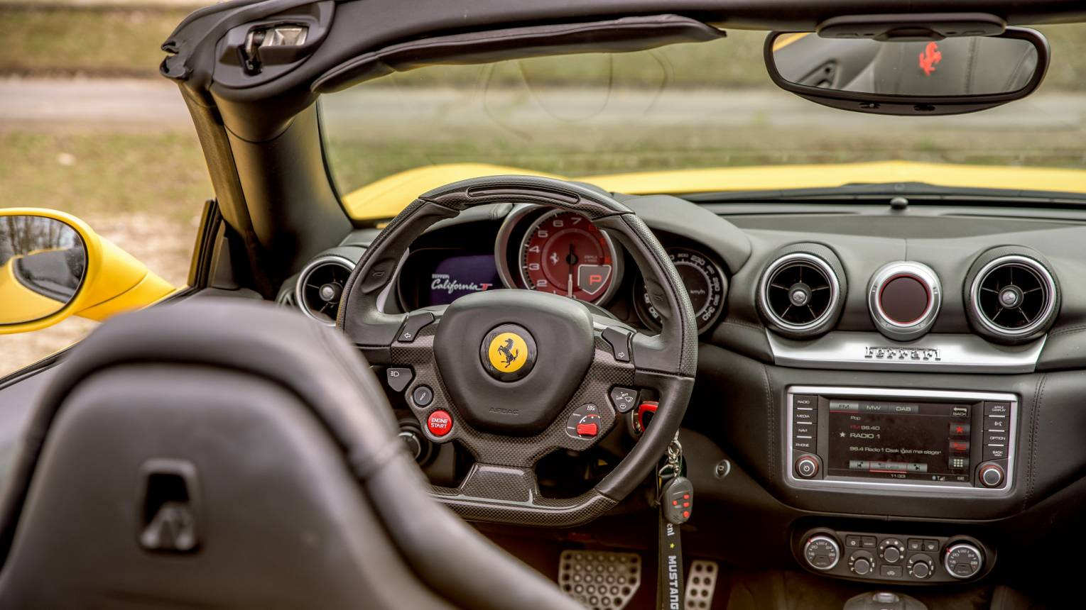 Ferrari California vezetés a Slovakia Ringen