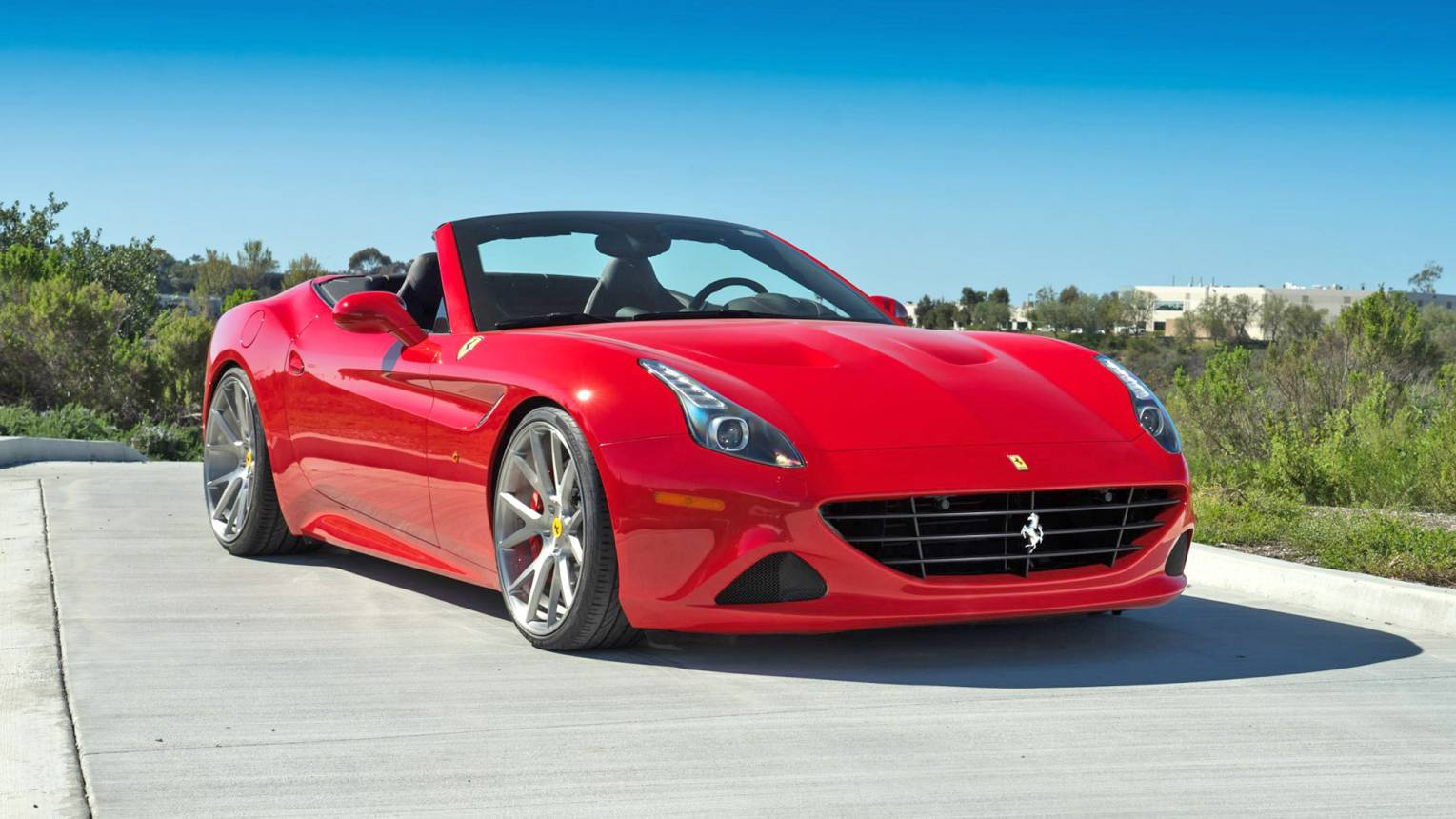 Ferrari California vezetés a Hungaroringen