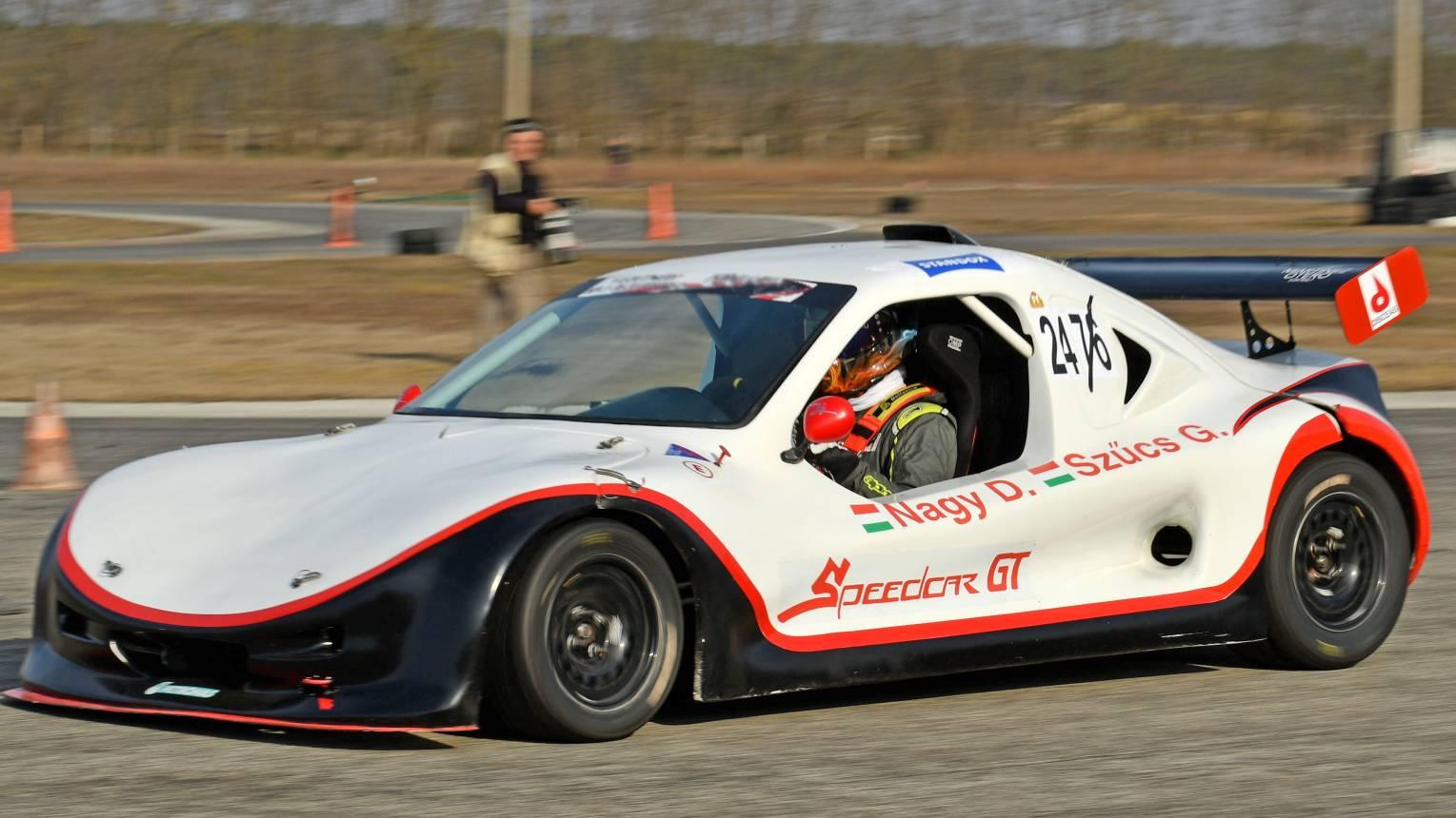 Formula Speedcar versenyautó vezetés az Euroringen
