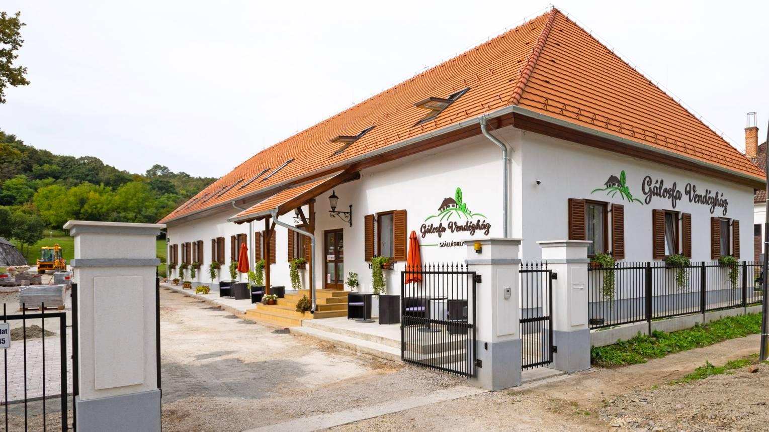 Gálosfai vendégházban kikapcsolódás a Somogyi dombok között