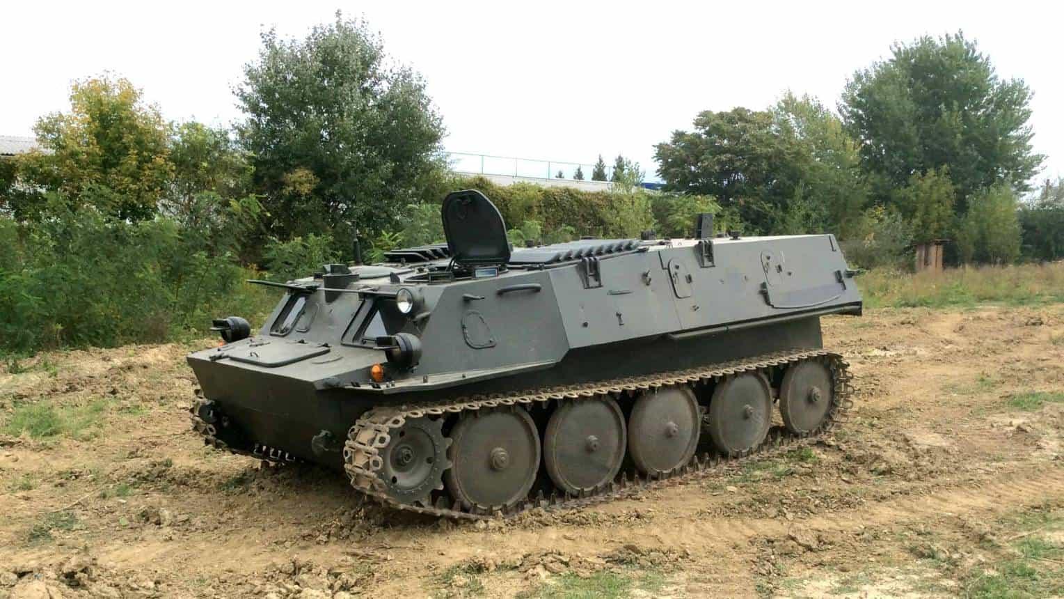 GTMU harckocsi vezetés Budaörsön