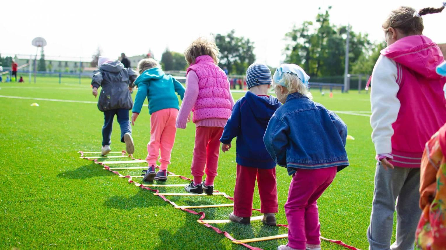 Bootcamp a szabadban gyerekeknek