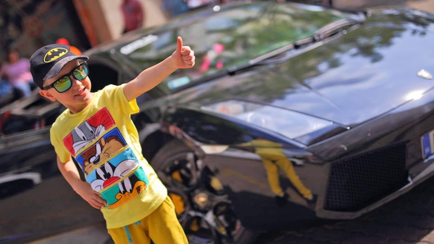 Élményautózás gyerekeknek Lamborghini Gallardo-val a DRX-Ringen