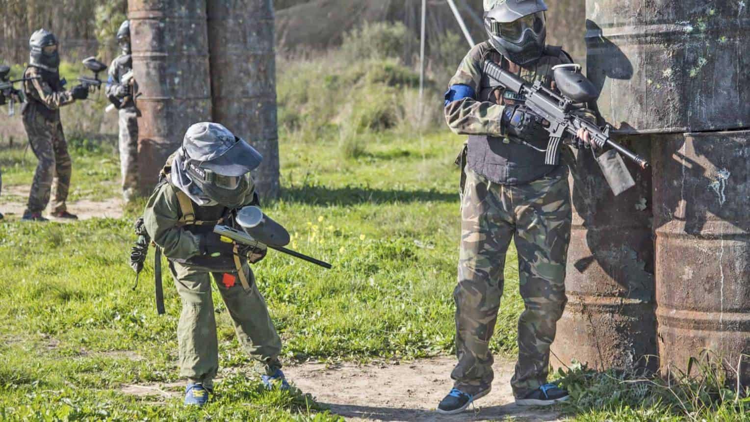 Paintball gyerekeknek korlátlan lőszerrel