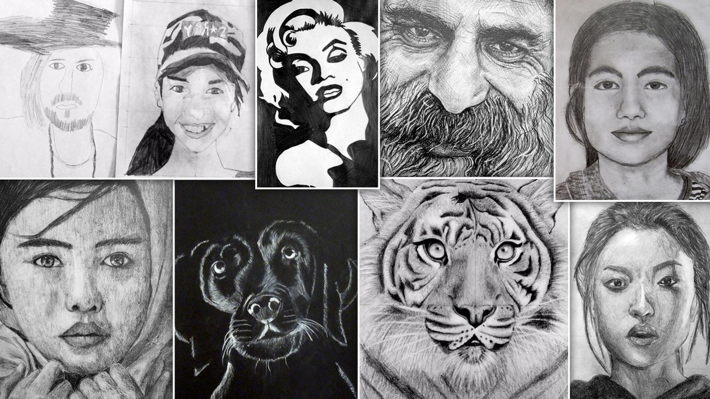 Jobb agyféltekés rajztanfolyam/tábor gyerekeknek a Valdor Art iskolában