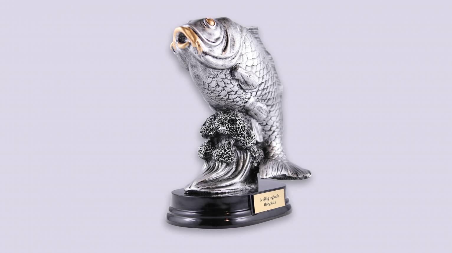 A legnagyobb fogás horgász trófea
