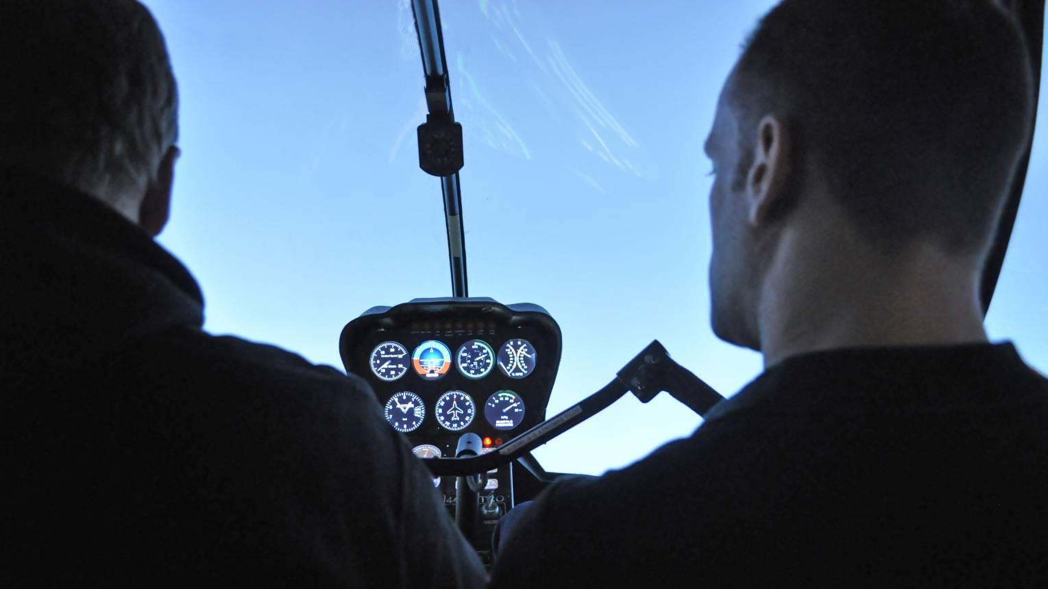 Helikopter szimulátor vezetés