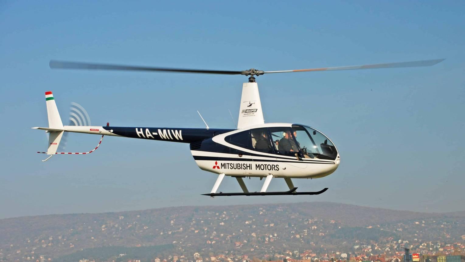Budapest Esztergom helikopteres repülés 1-3 fő részére