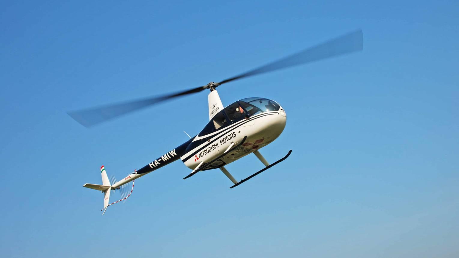 Helikopterrel Szentendre felett 1-3 fő részére