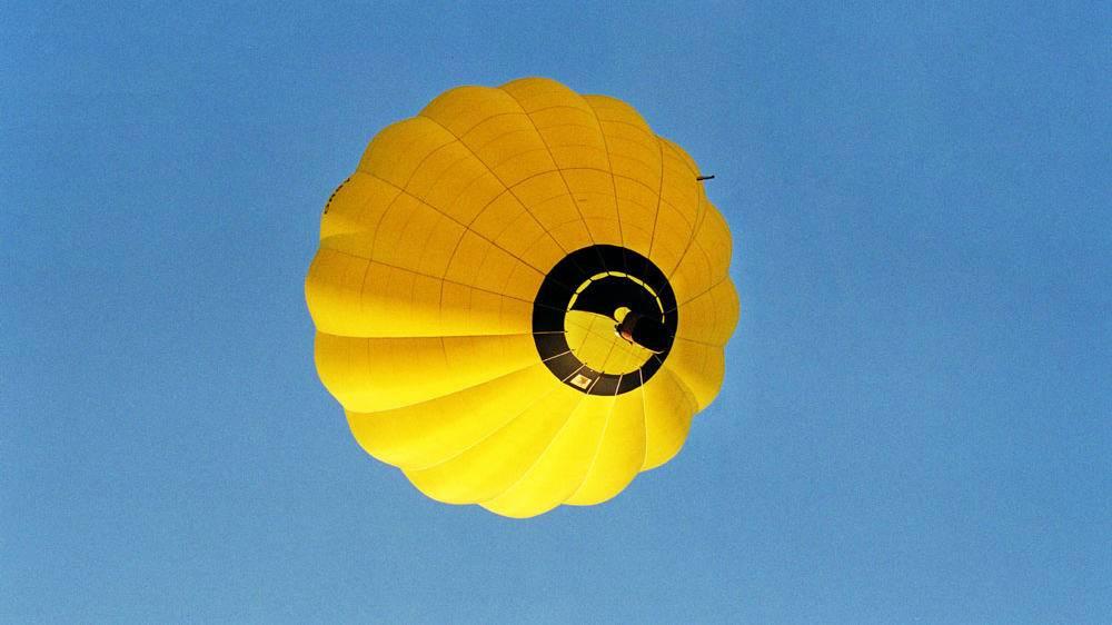 Hőlégballonos repülés
