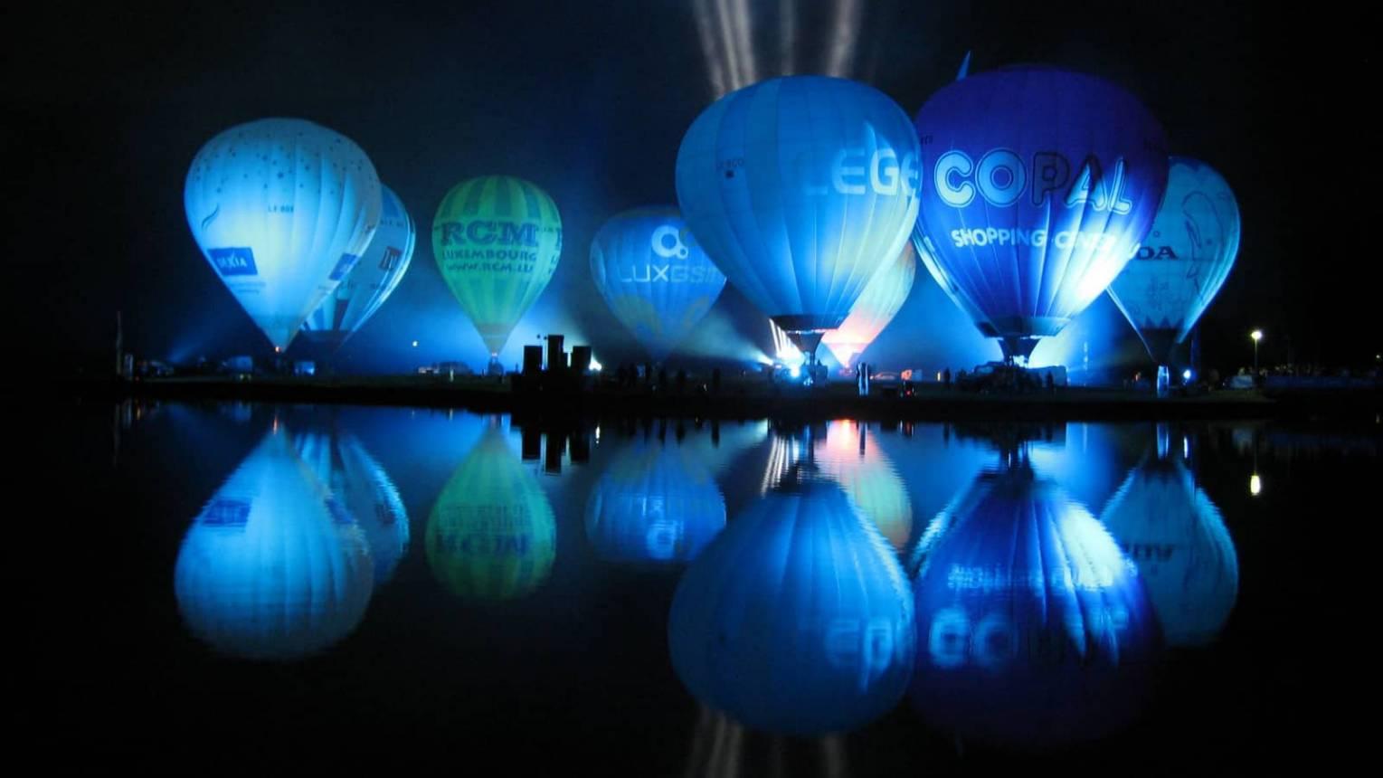 Hőlégballonos kötelékrepülés 9 fő részére