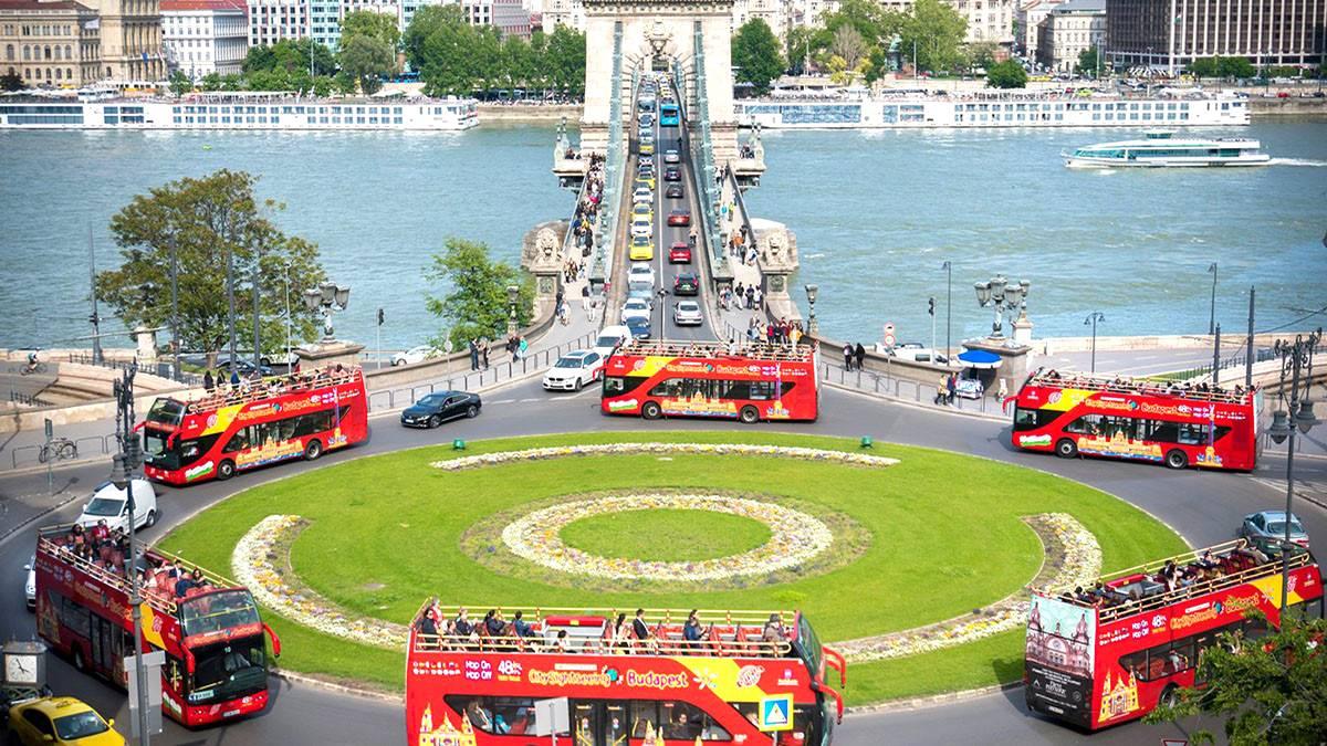 Városnézés HOP-on HOP-pal Budapesten