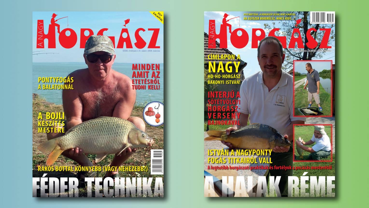 Barátod, párod A nagy horgász címlapján