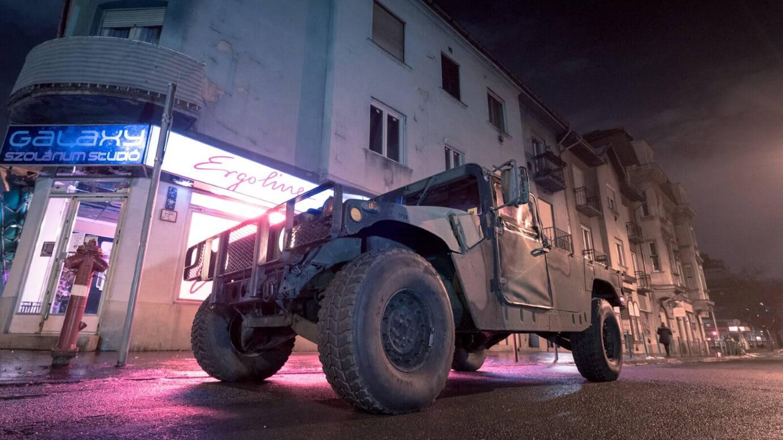 Igazi katonai HUMVEE utcai élményvezetés