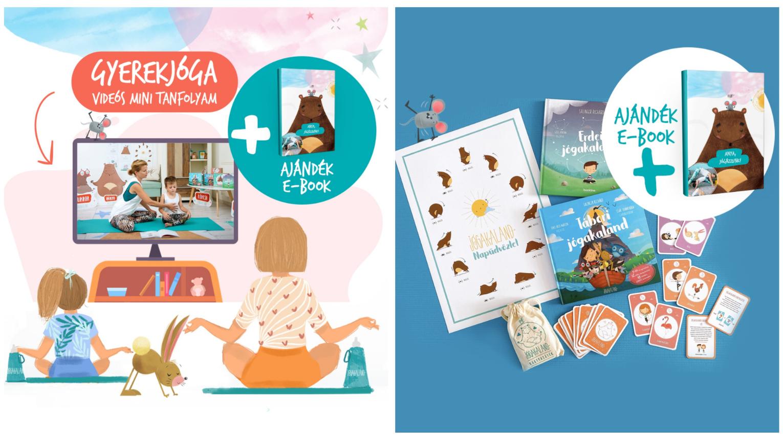 Online Gyerekjóga workshop – Jógás mesekönyvekkel és kártyajátékkal