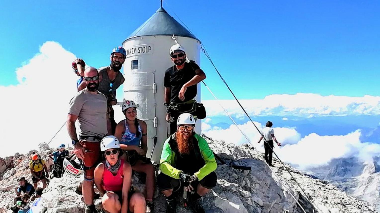 Szlovénia – Multi adventure túra A Júliai-Alpokban 2021.Aug.20-24.