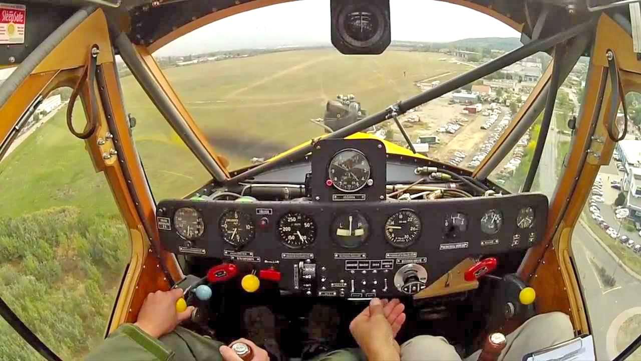 Repülés R-18 Kánya repülőgéppel