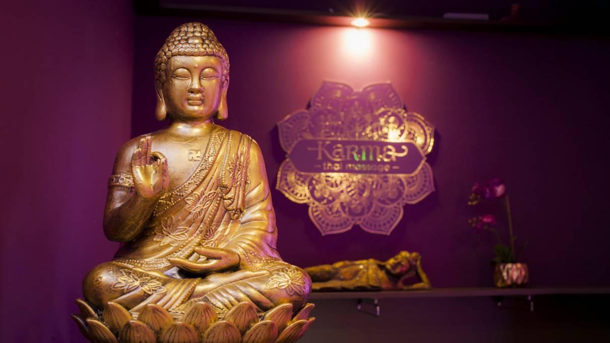 Tradicionális 60 perces thai masszázs Karma Szalonban