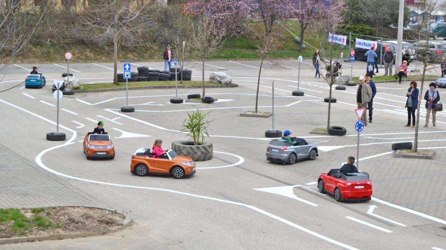 Esztergomi Gyermek Autós Közlekedési Park