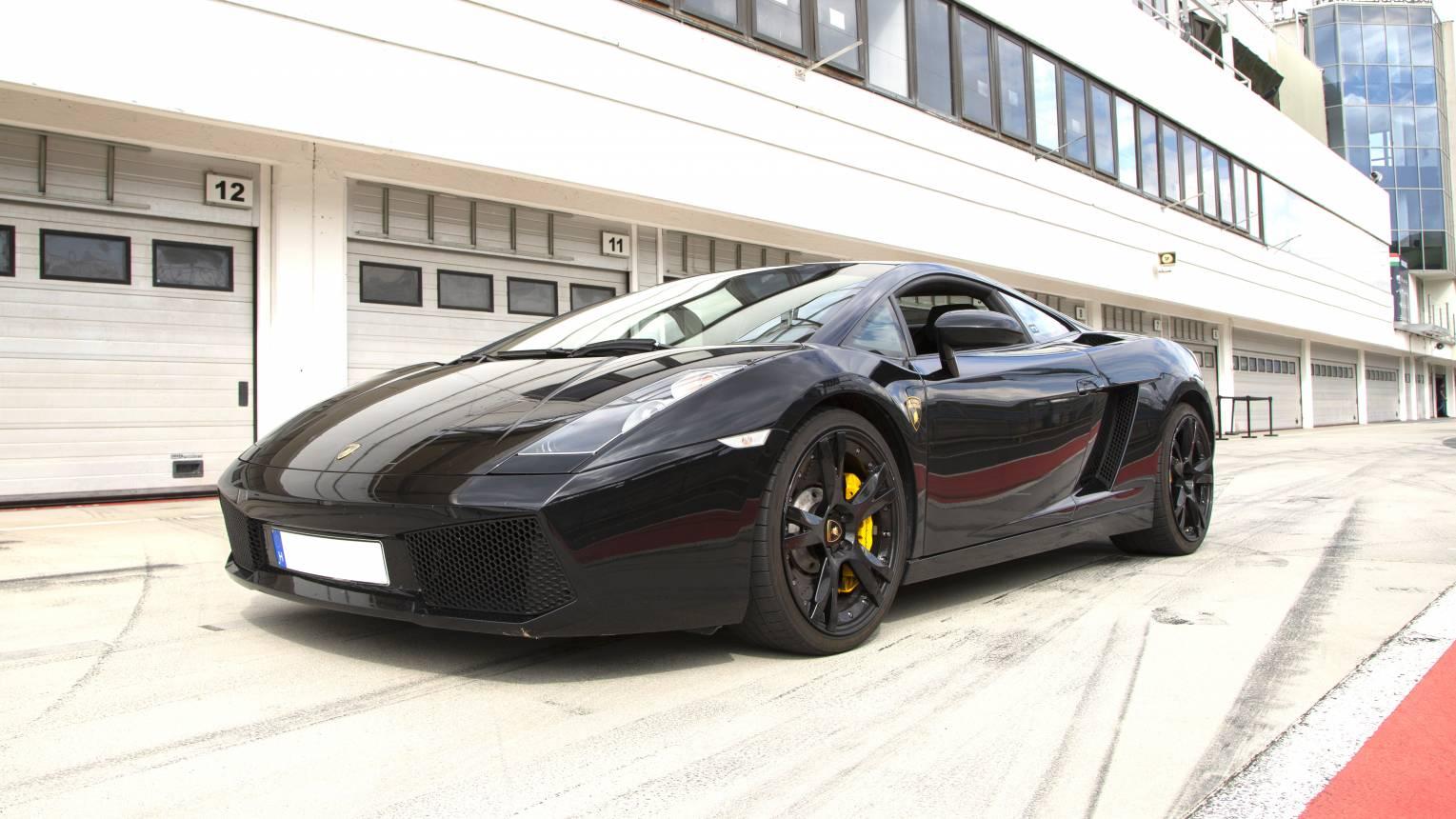 VIP Lamborghini Gallardo vezetés a Hungaroringen
