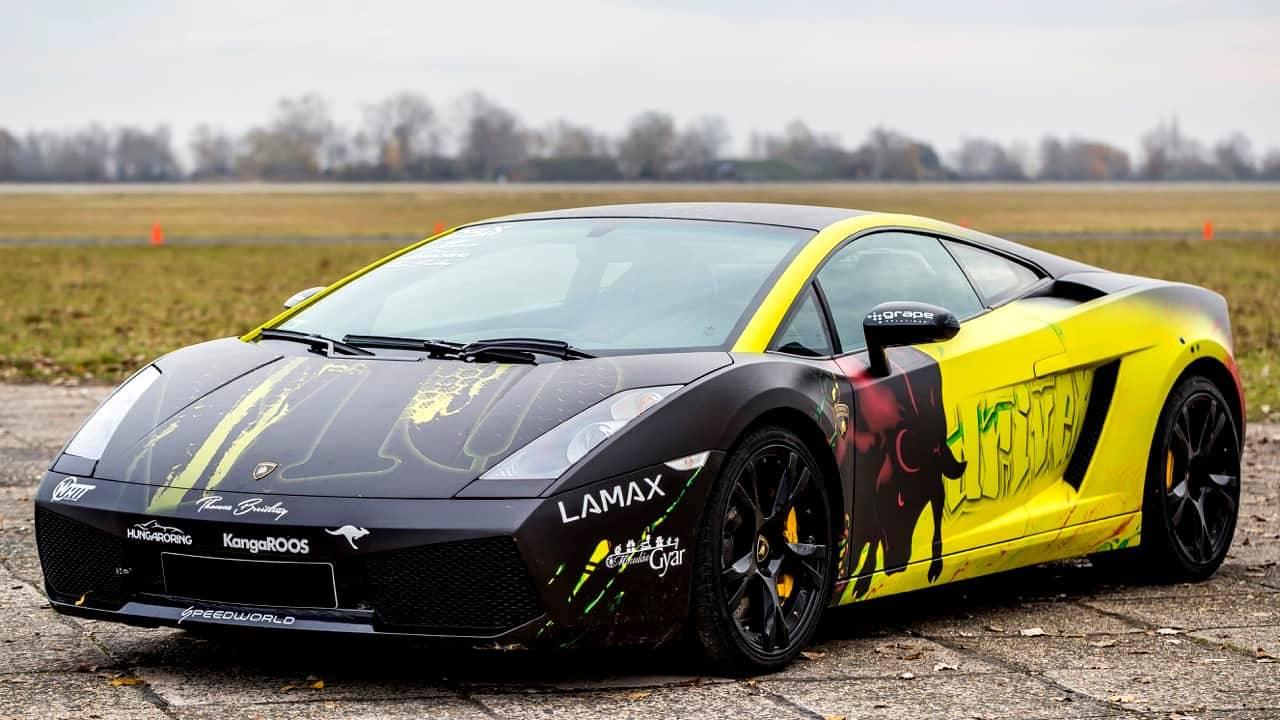 Lamborghini Gallardo vezetés a DRX-Ringen