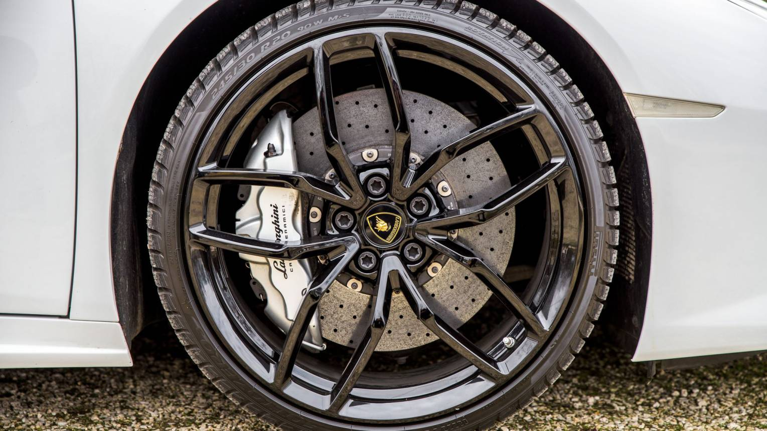 Lamborghini Huracan vezetés a Slovakia Ringen