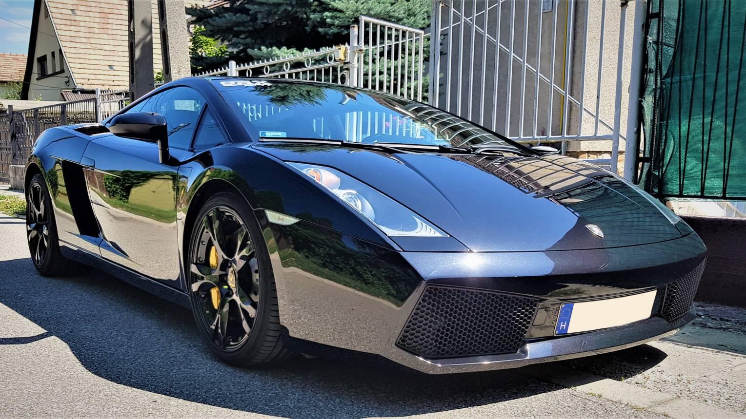500 Le-s Lamborghini Gallardo vezetés Budapest utcáin! Menő ajándék!