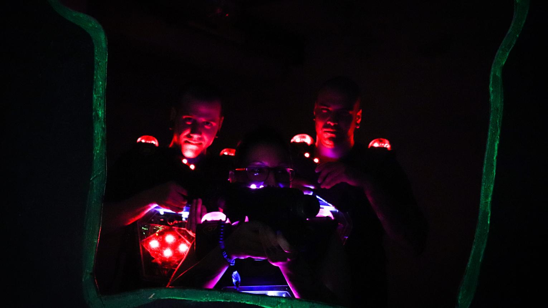Profi Laserpark Budapest több, mint 2000 négyzetméteren