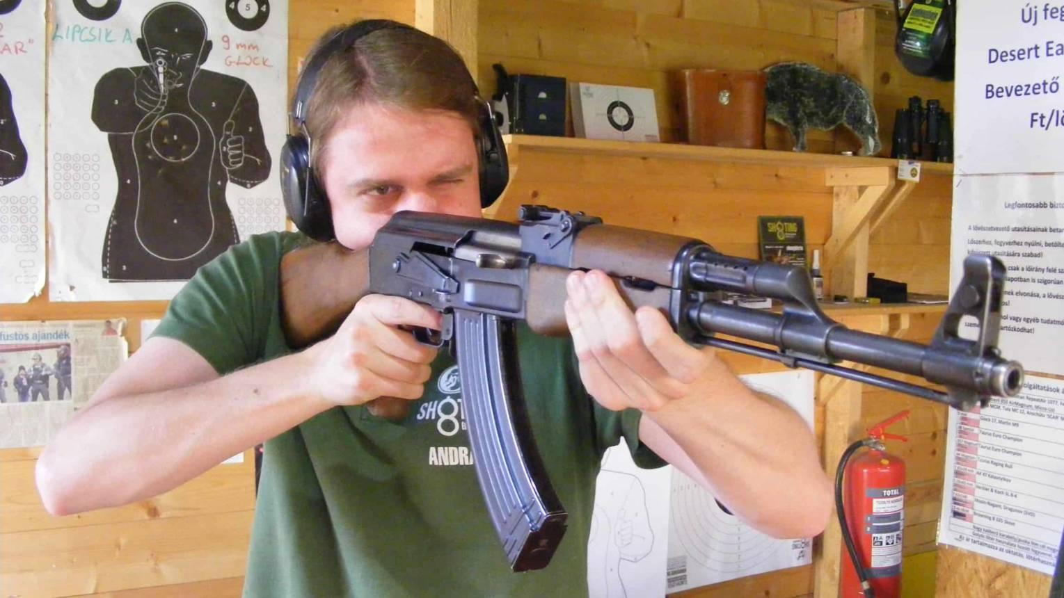 Hadifegyverek 2020 lövészcsomag