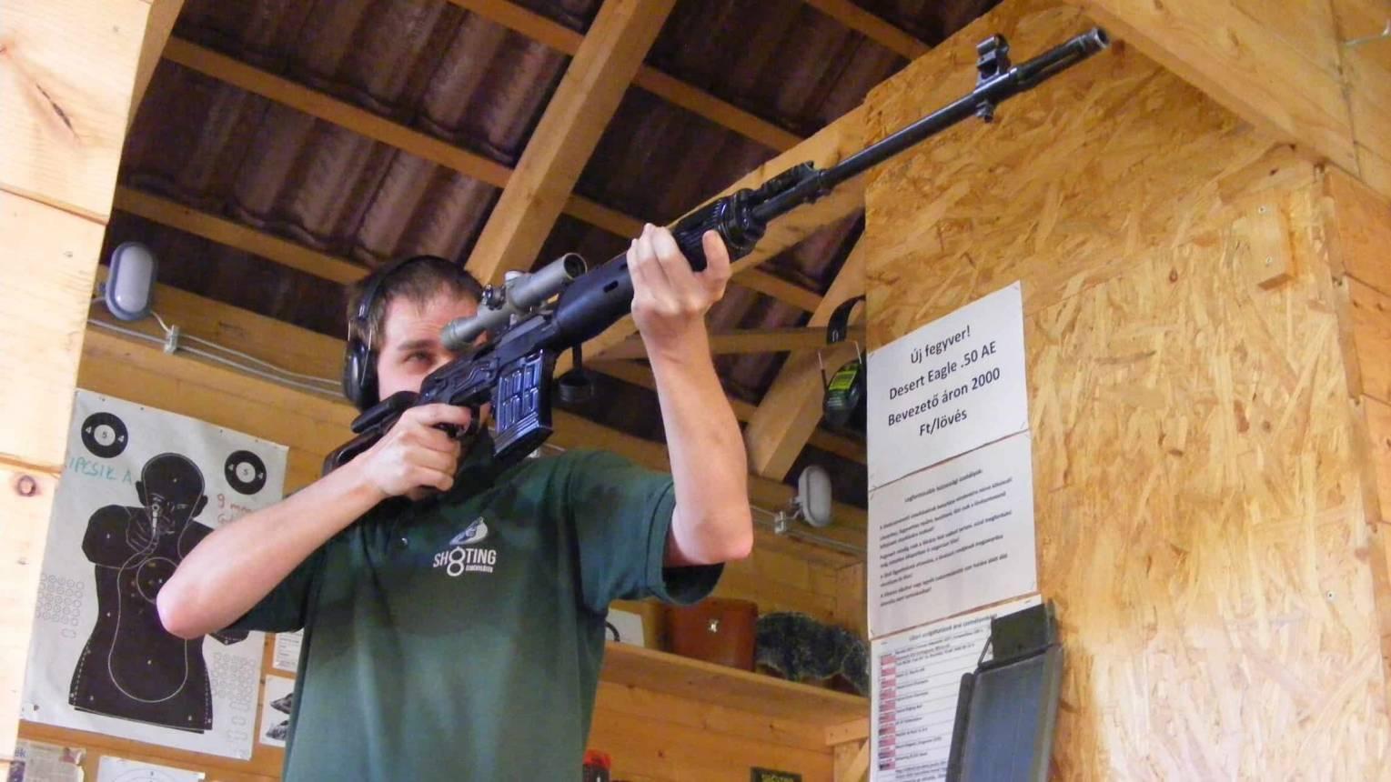 Telitár lövészcsomag