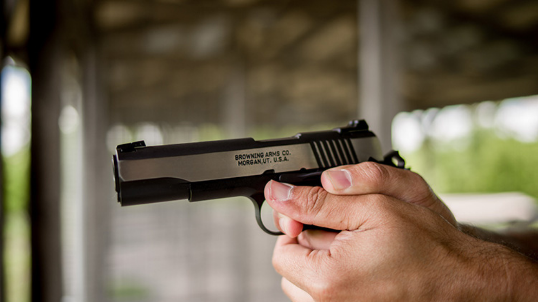 Pisztolyos lövészet a Mátrában