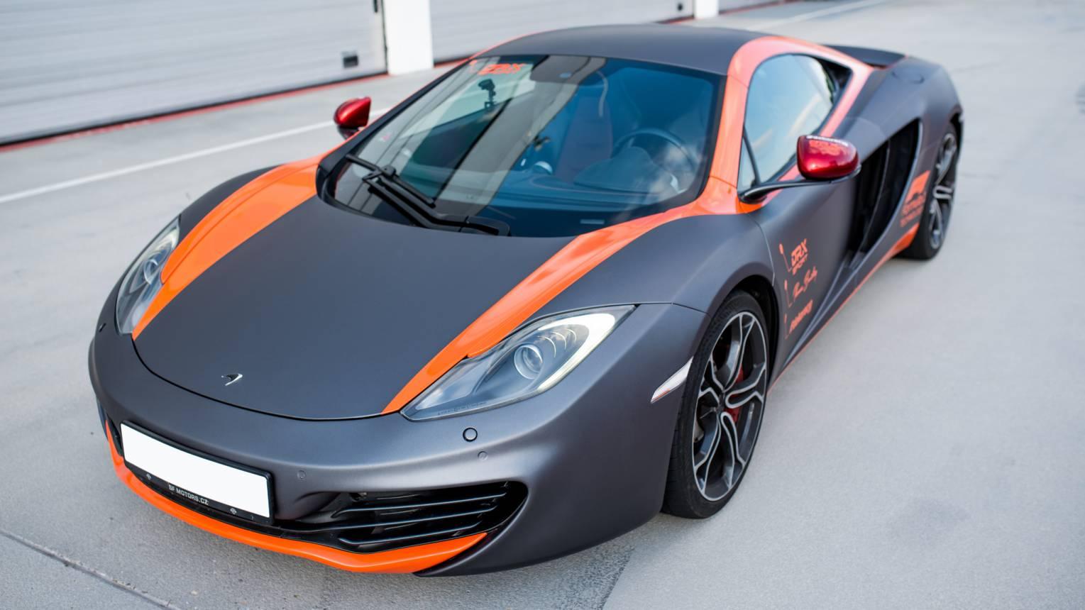McLaren MP4-12C F1 vezetés a Hungaroringen