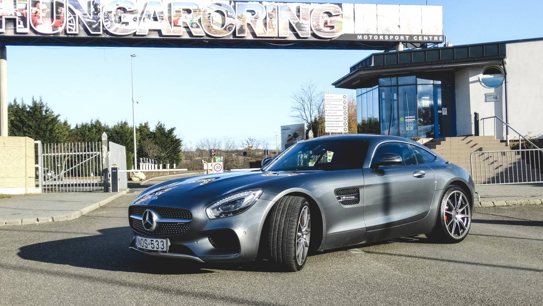 VIP Mercedes AMG GT-C vezetés a Hungaroringen