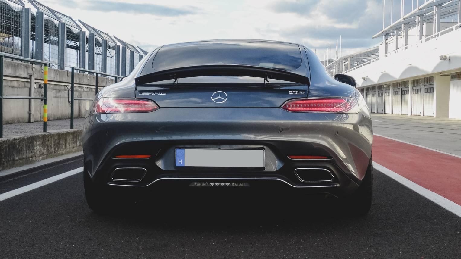Mercedes AMG GT-C vezetés az Euroringen