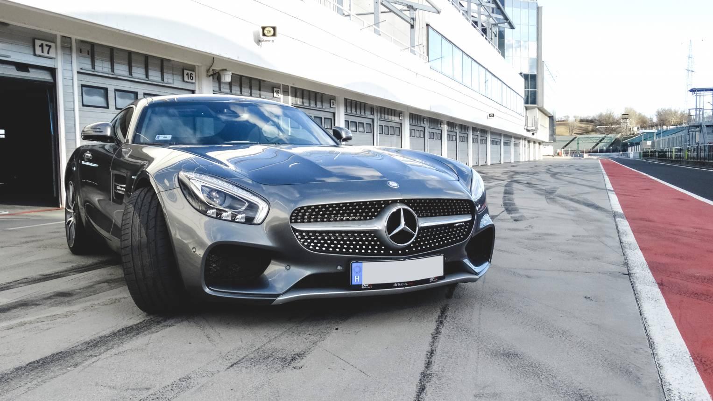 Mercedes AMG GT-R vezetés a Slovakia Ringen