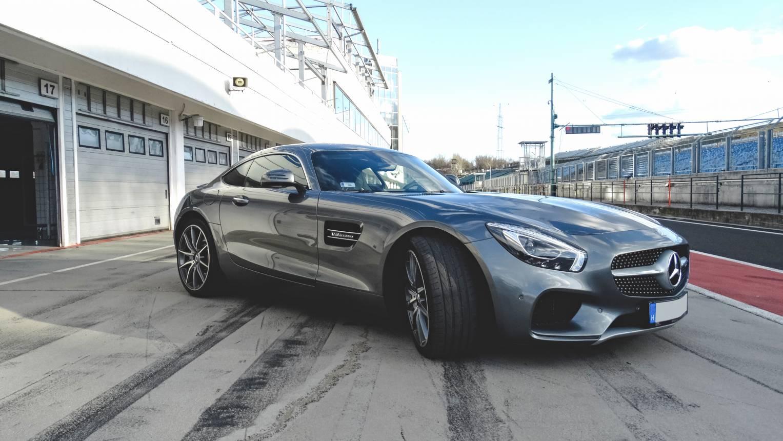 Mercedes AMG GT-C vezetés a Hungaroringen