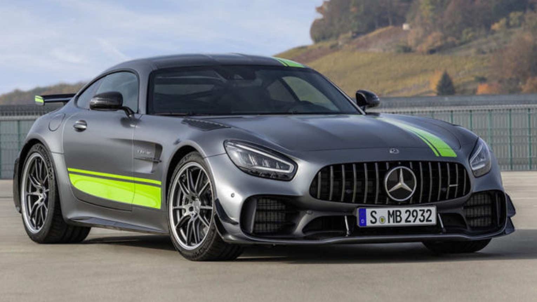 Mercedes AMG GTS vezetés a Hungaroringen