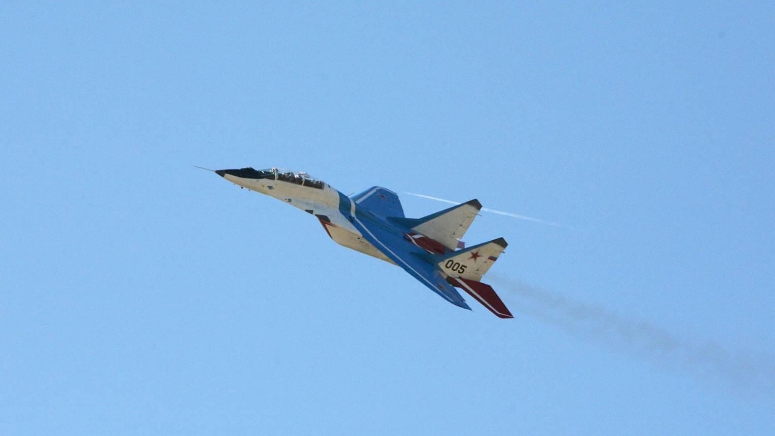 40 perces MIG-29-es repülés az űr határán