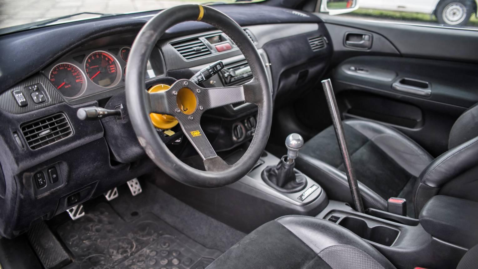 Mitsubishi Evo IX vezetés a Hungaroringen