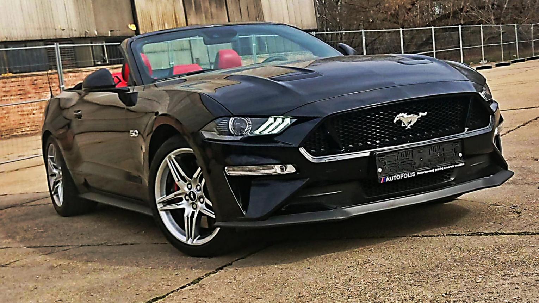 Ford Mustang 5.0 GT V8 CONVERTIBLE kölcsönzés