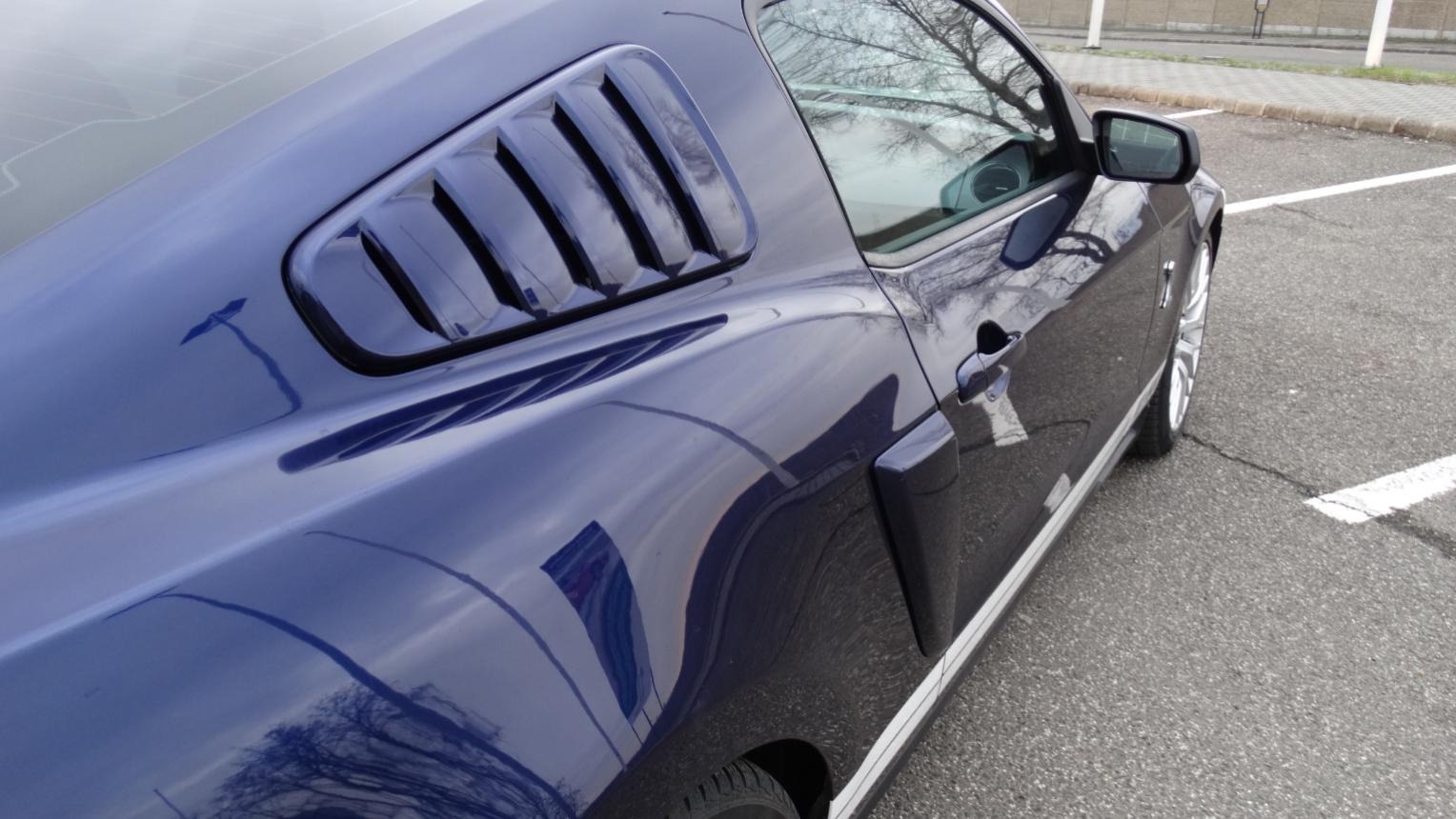 Mustang GT 500 vezetés a Hungaroringen